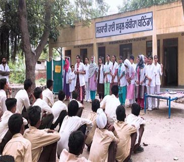 adesh nursing college bathinda events